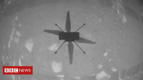 Nasa successfully flies small helicopter on Mars