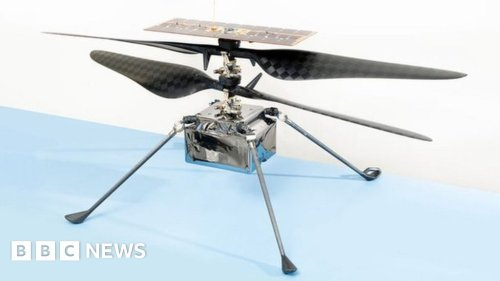 Nasa to fly Ingenuity Mars helicopter in early April