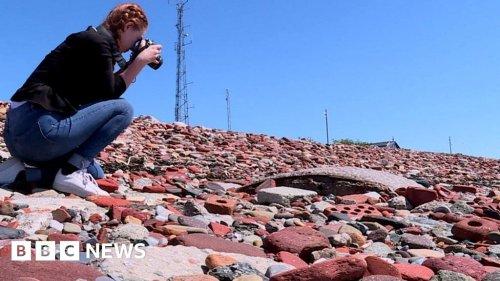 Crosby 'brick beach' Blitz secrets revealed by student
