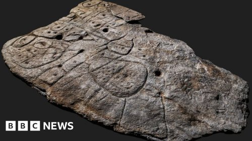 Bronze Age slab found in France is oldest 3D map in Europe