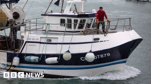 Fishing rights row: French threats disappointing, says Frost
