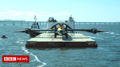 'Most powerful' tidal turbine starts generating electricity off Orkney