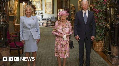 Queen meets Joe Biden at Windsor Castle
