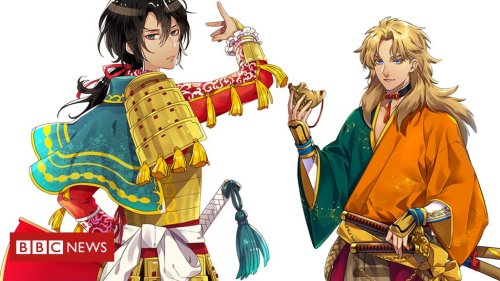 Tokyo Olympics: Japanese artists reimagine countries as anime samurai