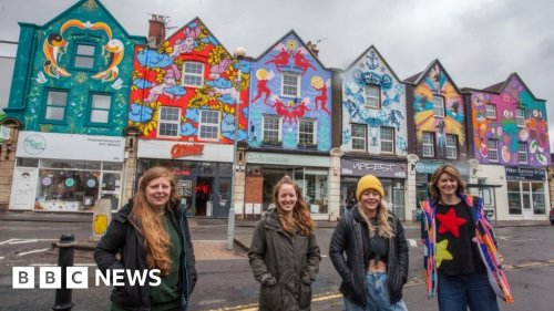Bristol Six Sisters street art project completed