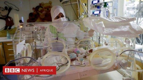 Les neuf bébés de la Malienne risquent de passer des mois en couveuse - BBC News Afrique