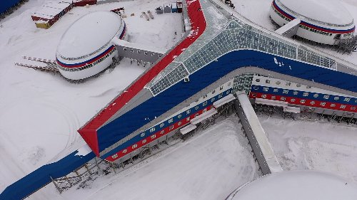 Inside Russia's Arctic military base