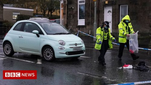 Woman and three children hit by car in South Lanarkshire