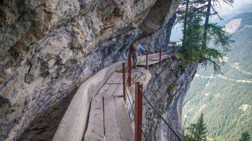 Switzerland's gravity-defying solution