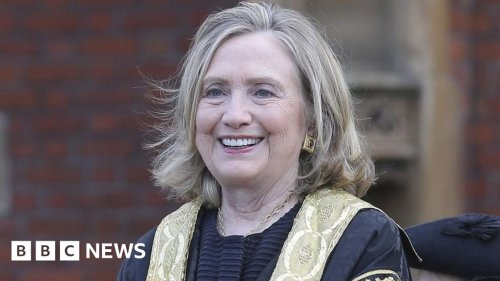 Hillary Clinton inaugurated as new Queen's University chancellor