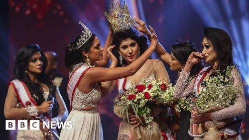 Caroline Jurie: Mrs World arrested over Sri Lanka pageant bust-up