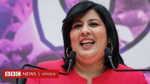 La députée tunisienne giflée et frappée en public mais pas vaincue - BBC News Afrique