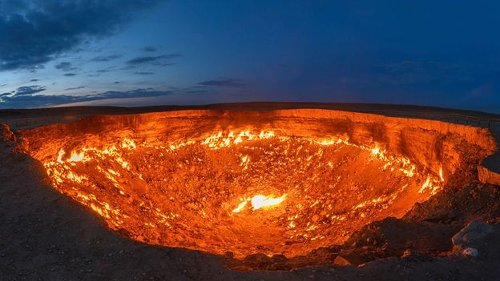 The Darvaza Crater: The USSR's top-secret desert mystery