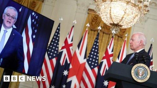 Aukus: France recalls envoys amid security pact row