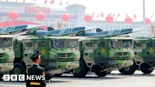 China denies testing nuclear-capable hypersonic missile