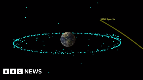 Apophis asteroid will not hit Earth for 100 years, Nasa says