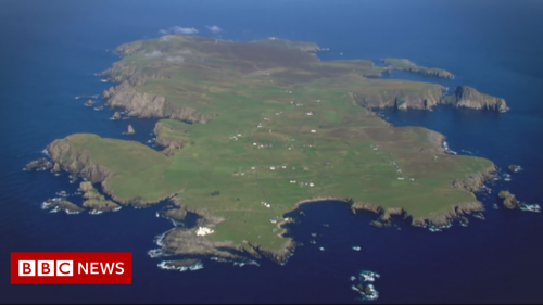 Covid: Every adult is vaccinated in Fair Isle, the UK's remotest island community