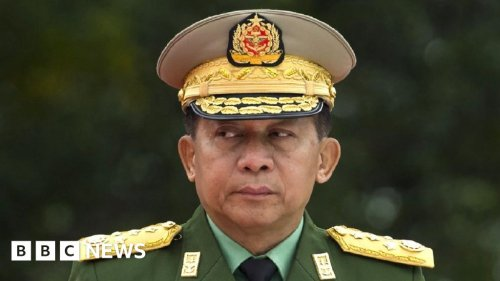 Myanmar army general Min Aung Hlaing excluded from leaders' summit