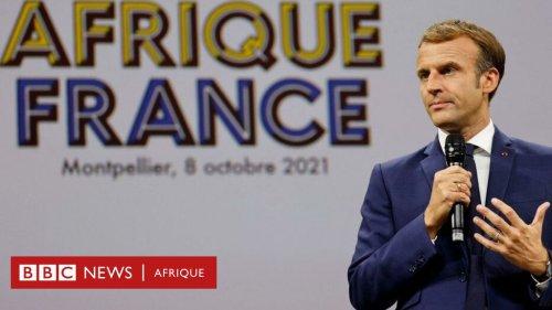 """Macron """"recadré"""" par de jeunes africains au sommet de Montpellier"""