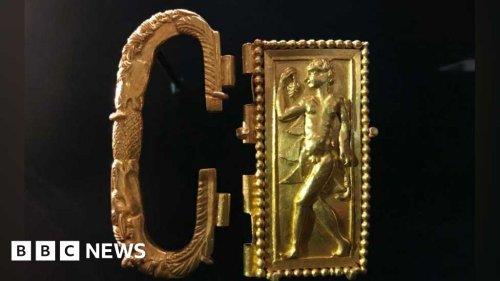 Roman treasure returns to Norfolk town where it was found