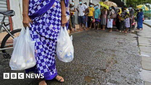 Why is there a food emergency in Sri Lanka?