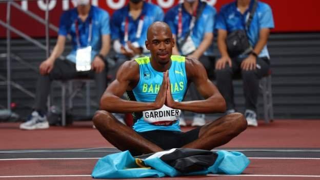 Bahamas' Gardiner wins 400m gold