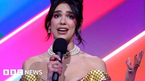 Brit Awards 2021: Dua Lipa demands pay rise for nurses as she wins