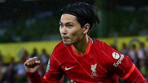 Minamino double as Liverpool progress