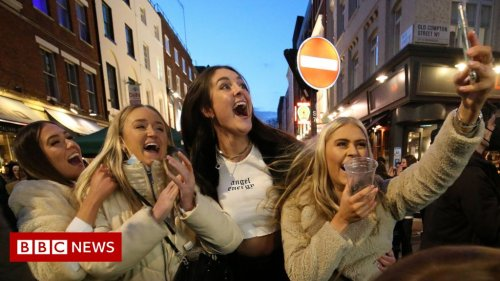 Covid lockdown eases: England 'buzzing' after first night out in 97 days