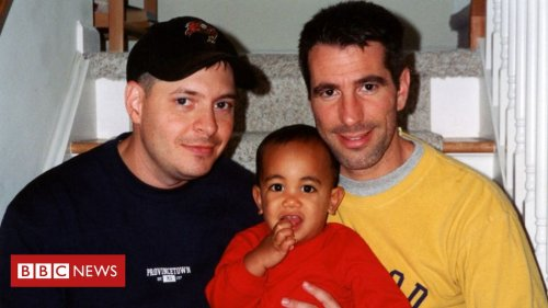 'We found a baby on the subway - now he's our son'