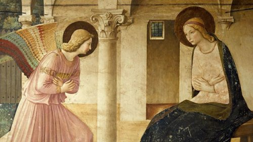 Fra Angelico's Annunciation: Sexual clues in a barred window