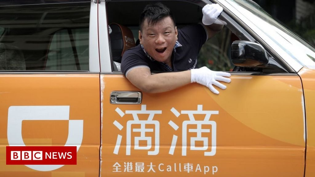 Chinese ride-hailing firm Didi sued in US as shares slide