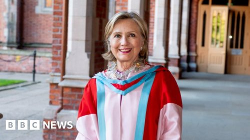 Hillary Clinton to be inaugurated as Queen's University chancellor