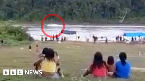 Illegal gold miners stalk Amazon as authorities look away