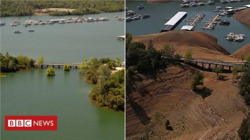 Then and now: A 'megadrought' in California