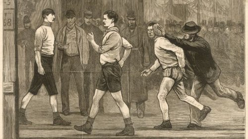 The strange 19th-Century sport that was cooler than football