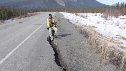 The fragile future of roads and buildings built on permafrost