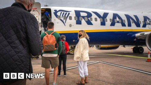 Ryanair and Manchester Airport Group take legal action over travel traffic light system