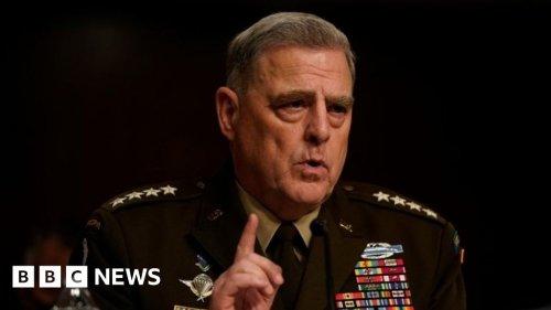Afghanistan: Biden advised to keep 2,500 troops - generals