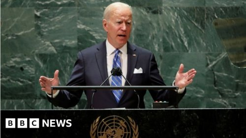 President Biden urges unity in first UN speech amid tensions with allies