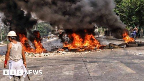 Myanmar protests: Demonstrators killed in bloody Yangon crackdown