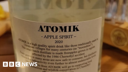 Chernobyl alcohol drink seized by authorities