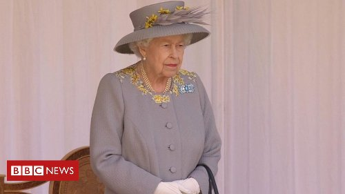 Trooping the Colour: Scaled back celebration for Queen's official birthday