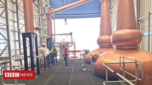 Entire whisky distillery ships out to China