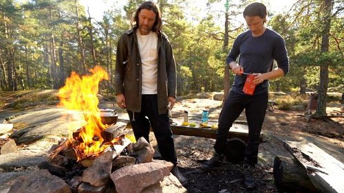 The Swedish chef who cooks solely with fire