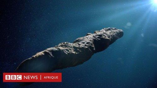 Les visiteurs de l'espace profond qui déconcertent les scientifiques - BBC News Afrique