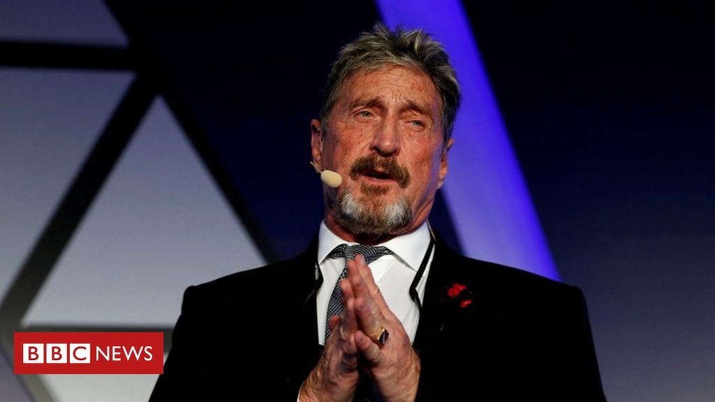 Anti-virus creator John McAfee arrested over tax evasion charges