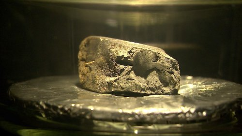 Rare meteorite found in UK goes on display