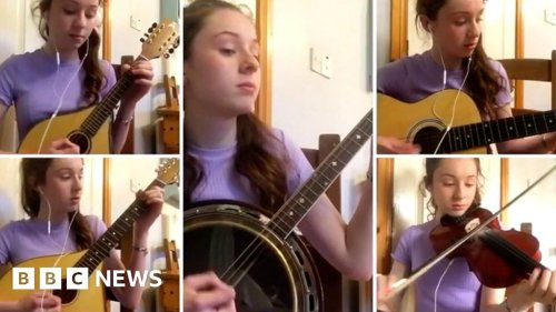 'I play all the instruments in my Irish music band'