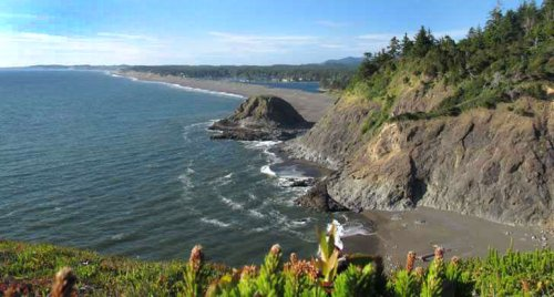 Three Agate Beach Names on Oregon Coast: Gold Beach, Port Orford, Newport